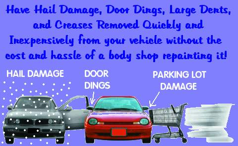 Dent And Hail Specialists Paintless Dent Repair